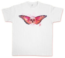 SKULL BUTTERFLY II HATE COUTURE T-Shirt Rockabilly Tattoo Old school Indie Shirt
