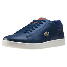 Lacoste Carnaby Evo 317 Perfed Quarter Mens Sneakers Navy Brown