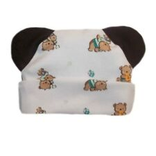 Baby Bear and Toys Hat with Ears! 5 Preemie & Newborn Sizes to 6 Months USA Made
