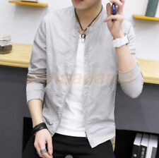 Men's Slim collar fashion jackets Tops Casual coat outerwear New style