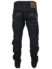 G-Star Jeans Riley Loose Tapered 3D Raw Wash Loose Fit Tapered Leg Kruce Denim