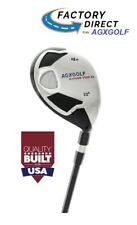 AGXGOLF LADIES RIGHT HAND MAGNUM XS #4 HY IRON w/LADY FLEX STEEL SHAFT + COVER