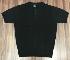 Lowrider Clothing Charlie Brown Black Polo Shirt Old School Street Classic