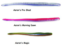 """Roboworm 4 1/2"""" Fat Straight Tail Finesse Worm - Assorted Colors"""