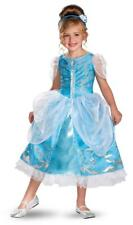 Girl's Disney Cinderella Deluxe Sparkle Halloween Costume - Toddler/Child