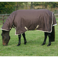 MARK TODD 250G MEDIUM MEDIUMWEIGHT TEFLON COATED COMBO ATTACHED NECK TURNOUT RUG