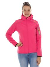 CMP Softshell Functional Jacket Ziphoodie pink windproof Stretch