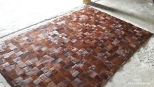 Cow Hide Patchwork Aix Skin Rug Cow Hide Leather Area Rug