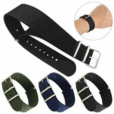 22mm Nylon Fabric Military Sport Replacement Wrist Watch Strap Band Bracelet New