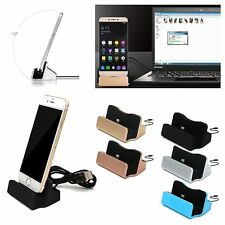 Desktop Charger Stand Docking Sync Dock Station Cradle for iPhone 5 6 S 7 8 Plus
