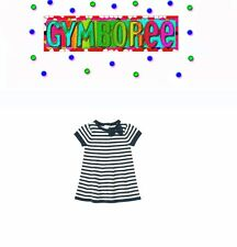 """Gymboree Baby Girl """"We Have Arrived"""" Striped Sweater Dress New 0-3 / 6-12 /18-24"""