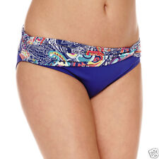 Liz Claiborne Paisley Hipster Swimsuit Bottoms Size 12, 14, 16 New Msrp $48.00