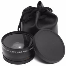 NZ4 46mm Supplement Macro w/ 0.45X HD Super Wide Angle Lens For Camera Camcorder