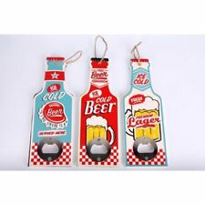 Hanging Retro Vintage Novelty Bottle Shaped Bottle Opener Beer Lager Gift Him