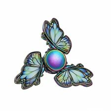 Colorful Butterfly Fidget Hand Spinner Finger Gyro EDC ADHD Autism Focus Toy New
