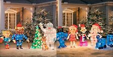 Pre Lit Rudolph's MISFIT ISLAND 3D TOYS TINSEL ANIMATED CHRISTMAS YARD OUTDOOR
