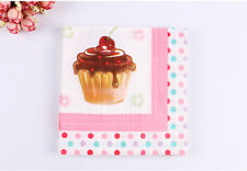 20 PCS/Pack Birthday Series Colorful Party Paper Napkin 33X33CM 2 Ply Pattern 7