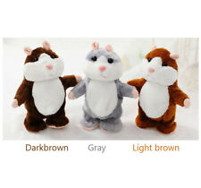 Toy Mimicry Pet Speak Talking Record Adorable Hamster Mouse Plush Kids Toy Gift