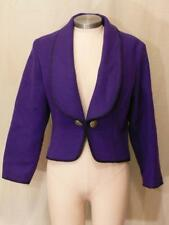 MID WEST GARMENT CO WOOL BLEND WESTERN SOUTHWEST CONCHO JACKET SIZE SMALL