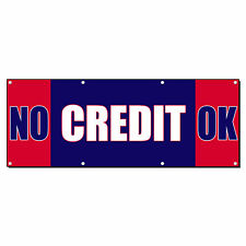 No Credit Ok Car Body Shop Repair Business Vinyl Banner Sign With Grommets