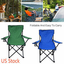Folding Arm Sand Beach Outdoor Camping Hiking Chair Seat Mountaineering Sports
