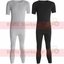 Thermal Underwear Suit/Set T-Shirt Top & Long Johns Heat Trap Fabric Mens Adults