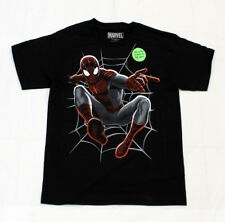 MARVEL SpiderMan GLOW IN THE DARK Youth's Licensed T-Shirt