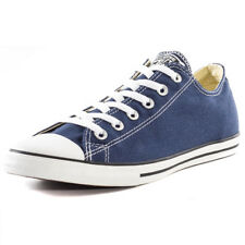 Converse Ct Lean Ox Womens Blue Canvas Casual Trainers Lace-up Genuine Shoes
