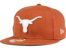 TEXAS LONGHORNS NCAA NEW ERA 59FIFTY HERITAGE SERIES CLASSIC WOOL FITTED HAT NWT