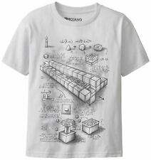 MINECRAFT TNT BLUEPRINT Youth's Official Licensed T-Shirt