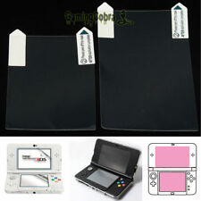 Clear Top + Bottom LCD Screen Protector Cover Film For New Nintendo 3DS XL/LL