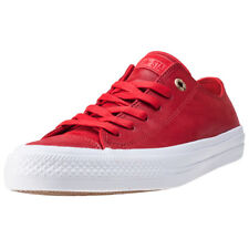 Converse Chuck Taylor All Star Ii Ox Womens Trainers Red New Shoes