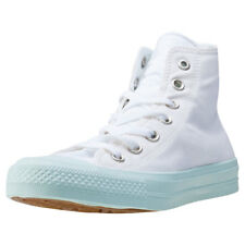 Converse Chuck Taylor All Star Ii Hi Womens Trainers White Blue New Shoes