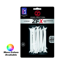 "Zero Friction Xtreme ZFX 4-Prong Performance Golf Tees 3-1/4"" 30 Pack"