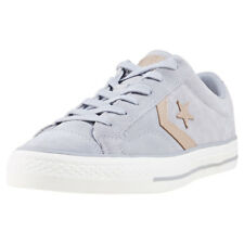 Converse Star Player Ox Mens Grey Suede Casual Trainers Lace-up Genuine Shoes