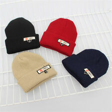 Winter Women Men Beanies Knitted Warm Hip Hop Wool Caps Hat Skullies Beanies