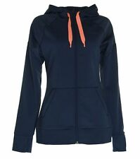 The North Face Women's Suprema Full Zip Hoodie Jacket Patriot Blue $99