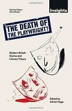 The Death of the Playwright?: Modern British Drama... by Page, Adrian 0333513169