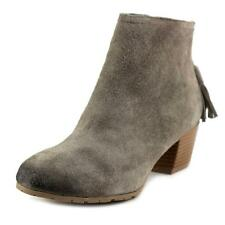 Kenneth Cole Reaction Pil Age Women  Round Toe Suede  Ankle Boot NWOB