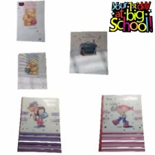 Your First Day At School Girl Boy Satchel Card Various Cards