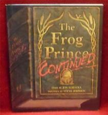 The Frog Prince Continued by Jon Scieszka Hardback New Free Shipping