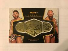 2017 Topps WWE Then Now Forever Championship Medallion Pick From List