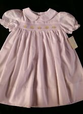 NWT Bailey Babies by Bailey Boys Smocked Dress 18M 24M 2T4T White
