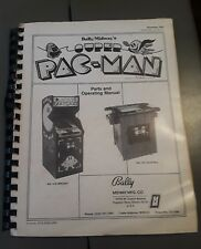 SUPER PACMAN By Midway 1982 Original VIDEO ARCADE Game Operators SERVICE MANUAL