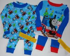 THOMAS THE TRAIN Boys 2T 3T 4T Pjs Set PAJAMAS Shirt Pants James Percy Engine