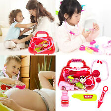 Kids Pretended Doctor Nurse Simulation Medical Toolbox COSPLAY Role Play Toys Li