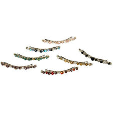 Hair Accessories Crystal Barrette Clips Hairpin Shiny Rhinestone Fashion Clips