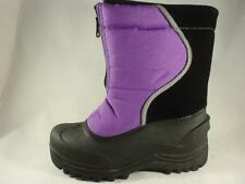 Girl's Youth ITASCA ICE BANDIT Purple Waterproof Winter Insulated Snow Boots s 3
