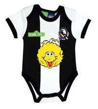 AFL Collingwood Magpies 2016 Sesame St Baby Romper Sizes 000 - 1