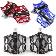 Mountain Bike Platform Pedals Flat Sealed Bearing MTB Bicycle Pedals 9/16